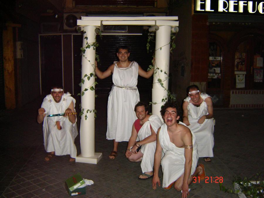 Barril griegos.
