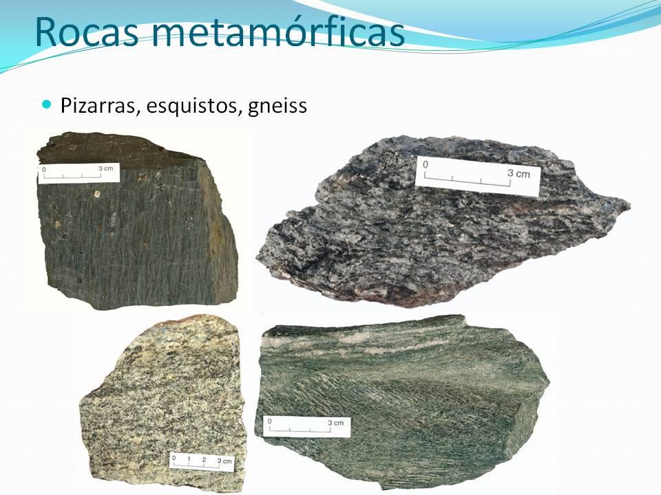 Rocas metam rficas for Nombre de la roca
