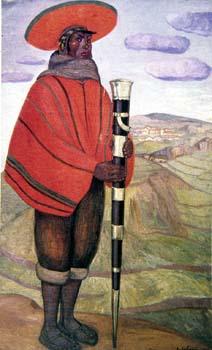 José Sabogal. Alcalde de indios de Chincheros, 1925