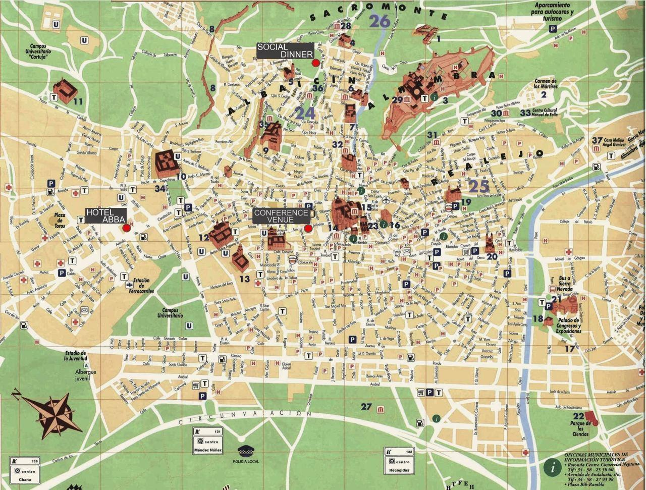 MAP OF GRANADA | ColoradoMap.org