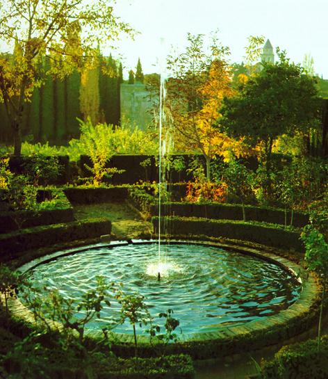 La fuente Jardines
