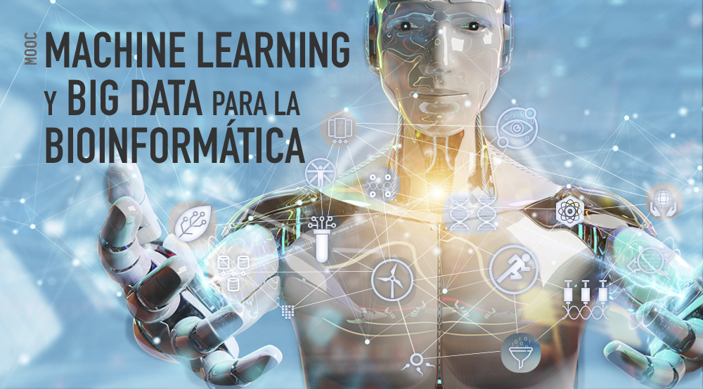 cartel MOOC Machine Learning y Big Data para la Bioinformática