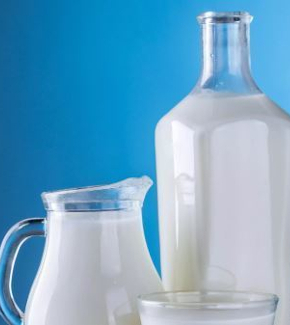 A jug of milk
